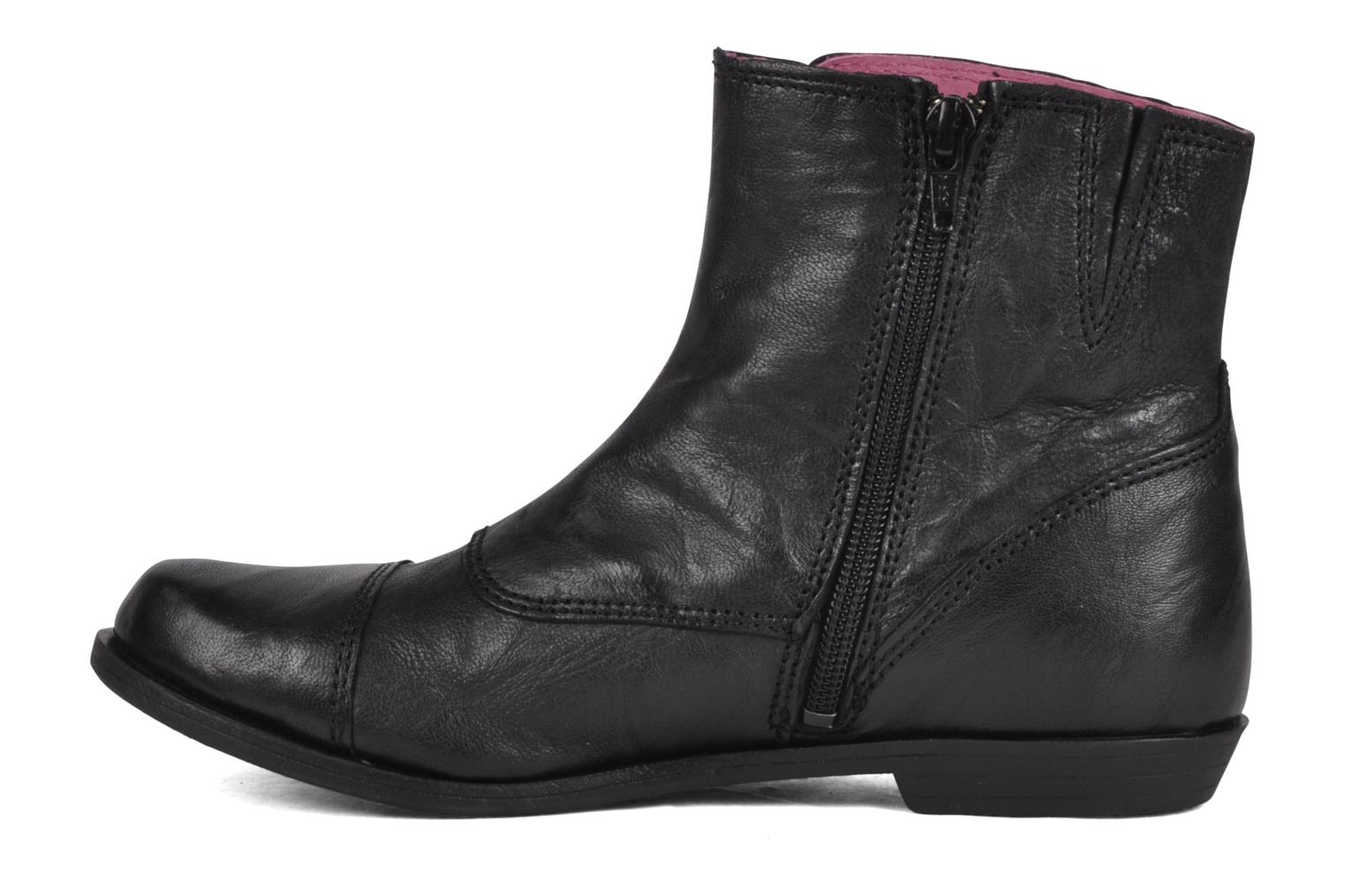 Bottines et boots Kickers Edkick Noir vue face