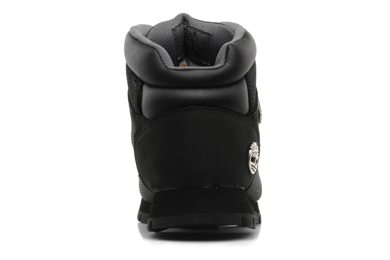 Zapatos con cordones Timberland Euro Sprint Negro vista lateral derecha