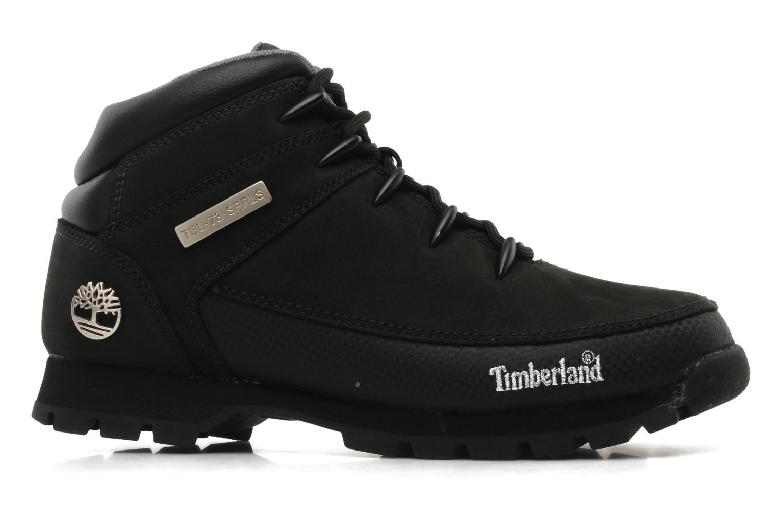 Zapatos con cordones Timberland Euro Sprint Negro vistra trasera