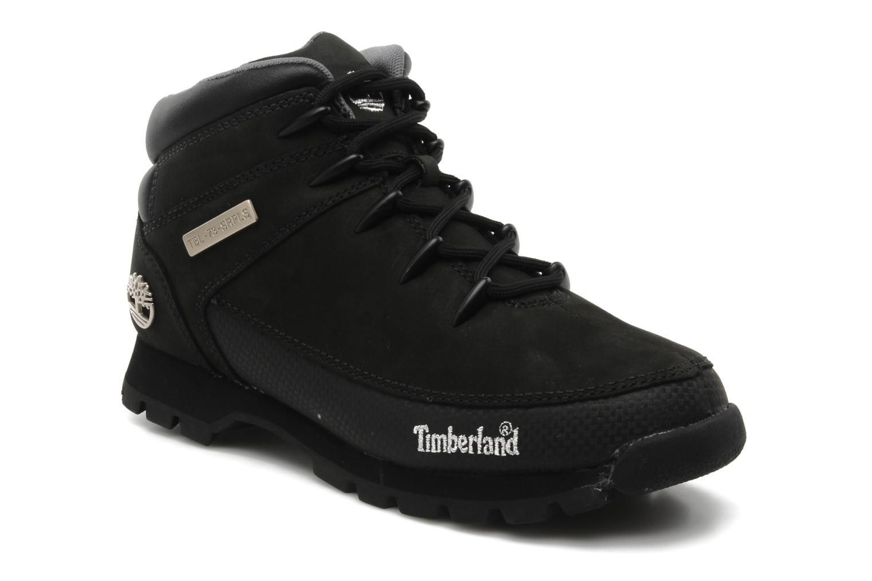 Snøresko Timberland Euro Sprint Sort detaljeret billede af skoene