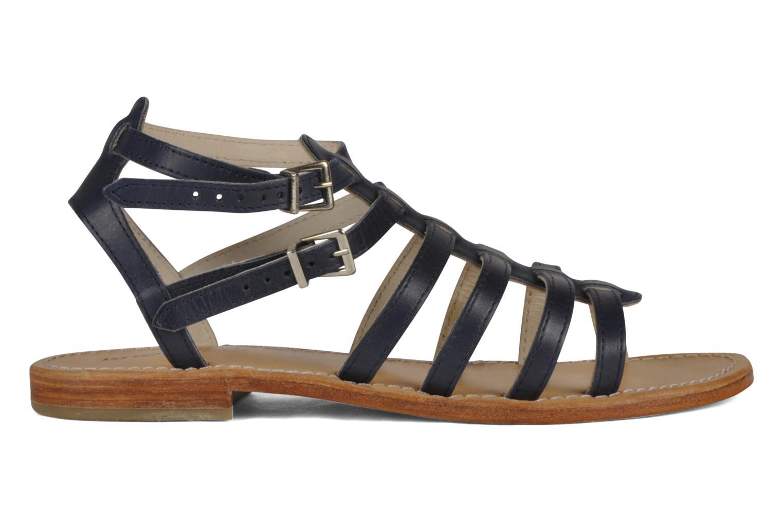 Sandales et nu-pieds Les Tropéziennes par M Belarbi Hicare Bleu vue derrière