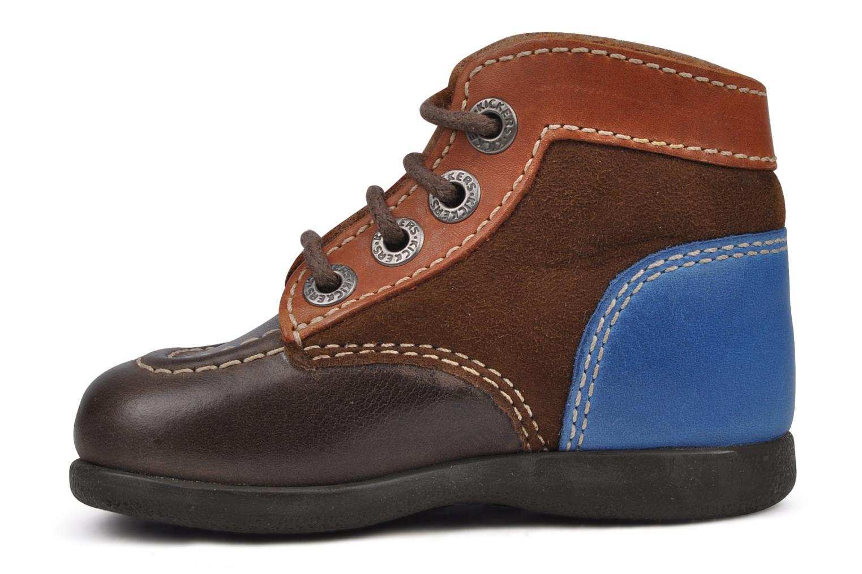 Stiefeletten & Boots Kickers Babyski braun ansicht von vorne