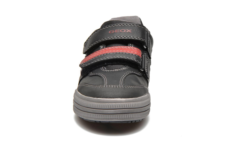 Baskets Geox J elvis b Noir vue portées chaussures