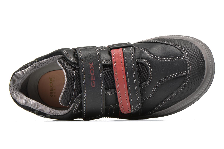 J elvis b Black/dk red
