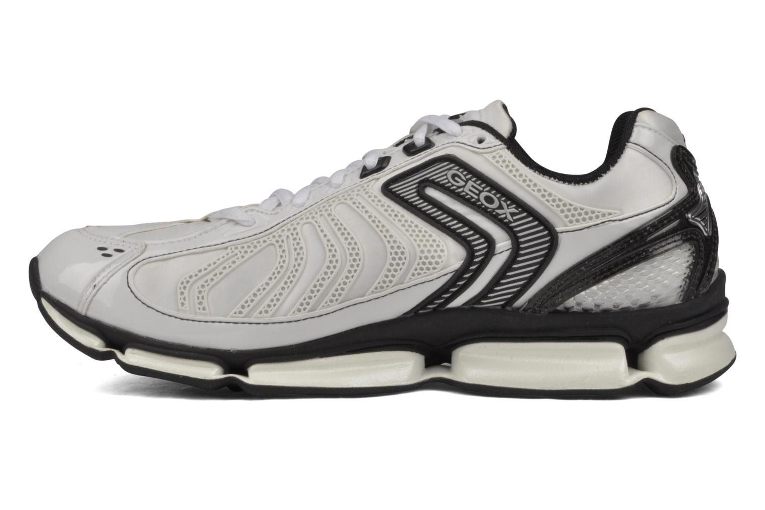 Sport shoes Geox D alpha b White front view