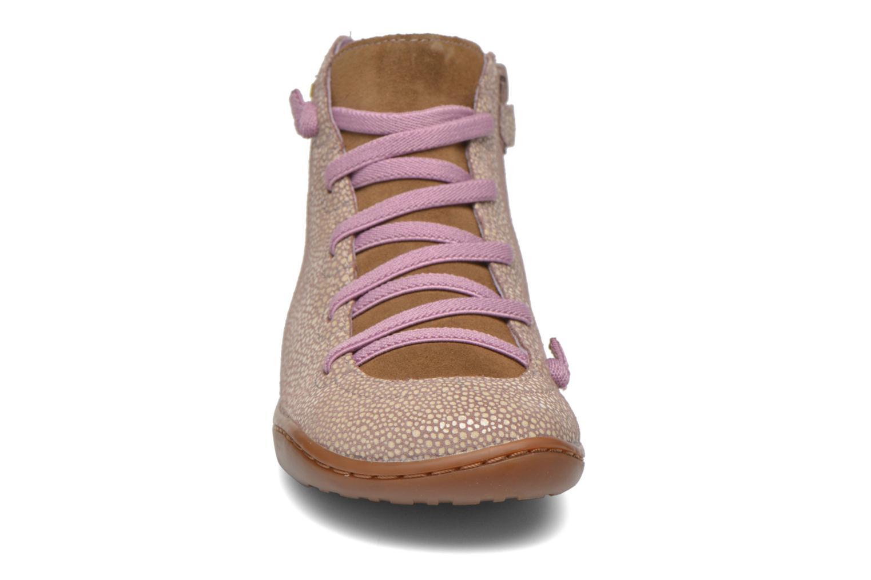 Bottines et boots Camper Peu cami 90085 Beige vue portées chaussures