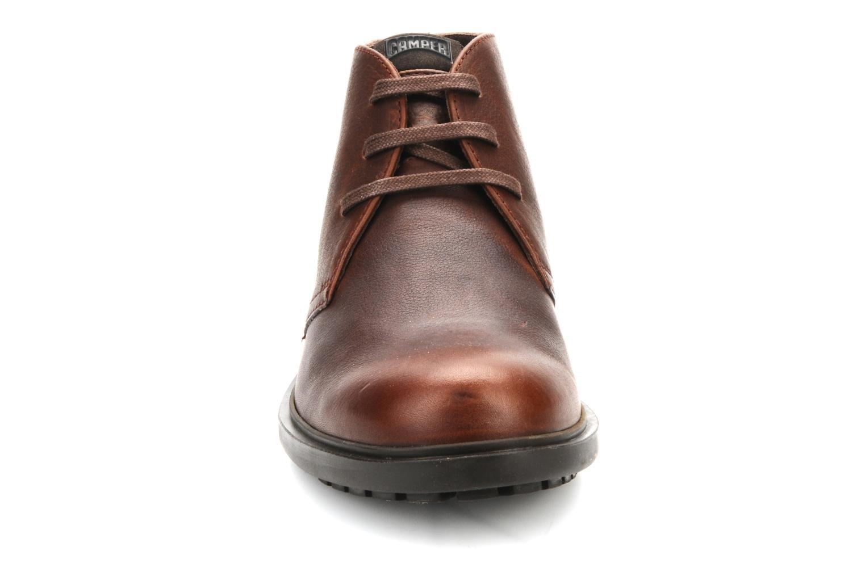 Chaussures à lacets Camper 1912 36426 Marron vue portées chaussures