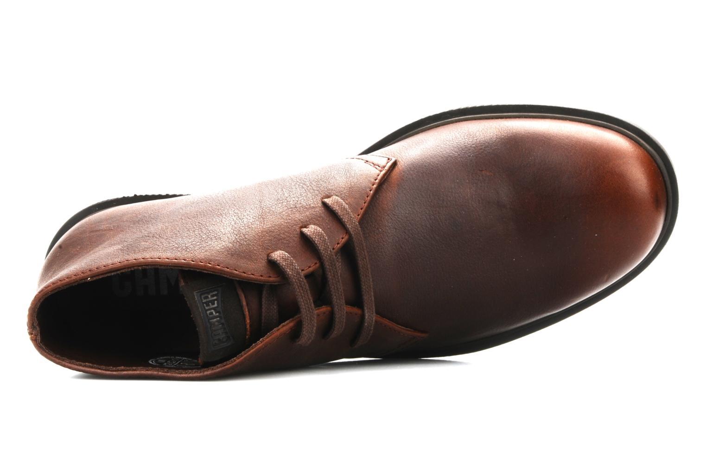 Chaussures à lacets Camper 1912 36426 Marron vue gauche