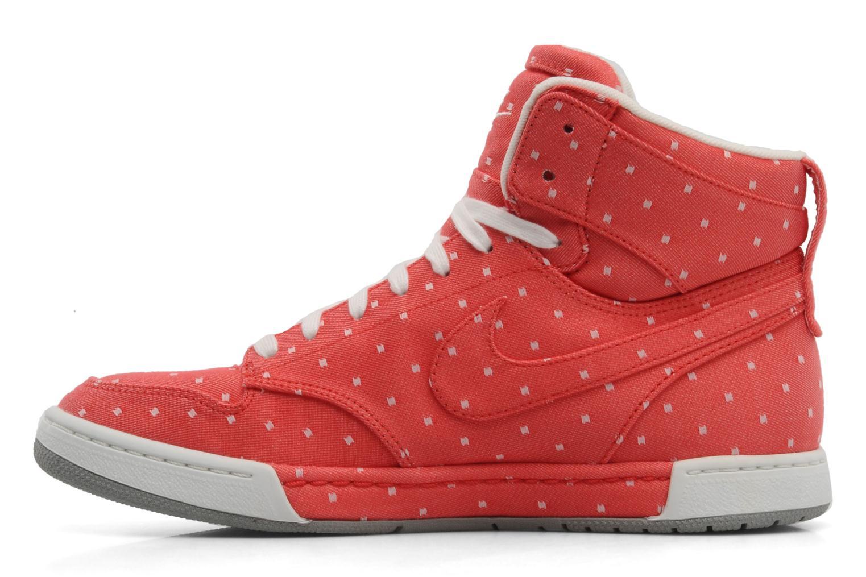 Baskets Nike Wmns nike air royalty hi Rouge vue face