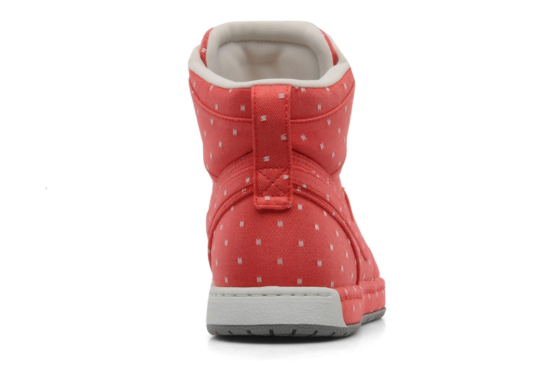 Baskets Nike Wmns nike air royalty hi Rouge vue droite