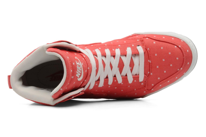 Baskets Nike Wmns nike air royalty hi Rouge vue gauche