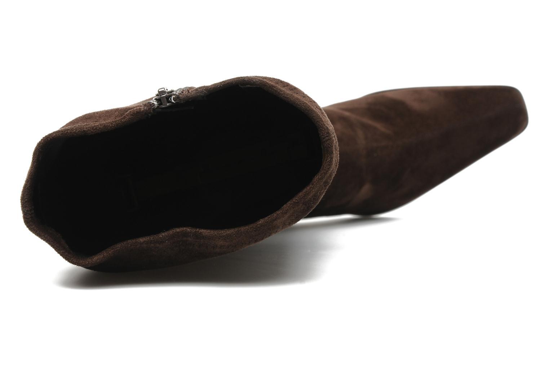 Stiefel Georgia Rose Doris stretch braun ansicht von links