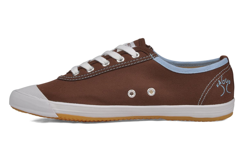 Sneakers Faguo Oak w Bruin voorkant