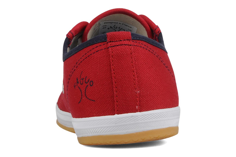Sneakers Faguo Oak m Rood rechts