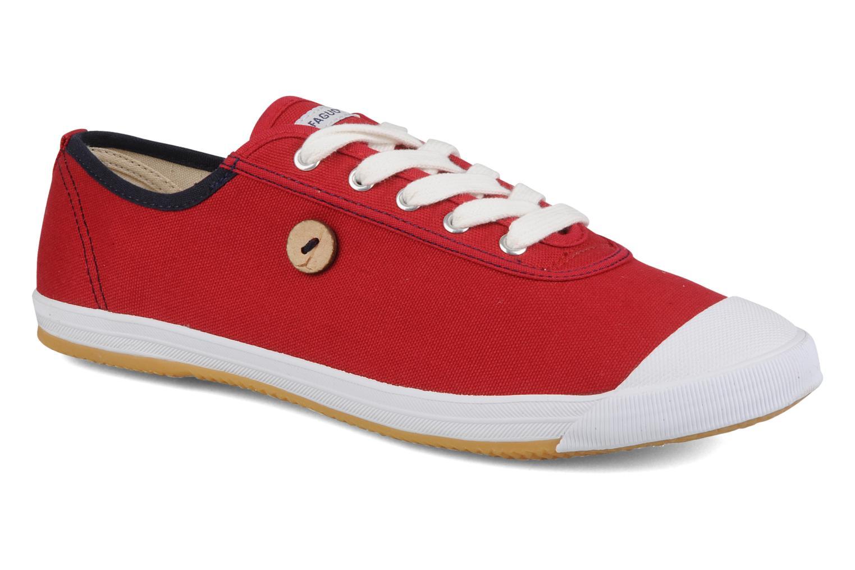 Sneakers Faguo Oak m Rood detail