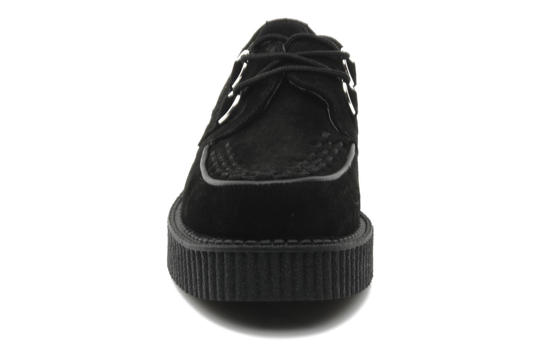 Lace-up shoes T.U.K. Mondo lo creeper Black model view