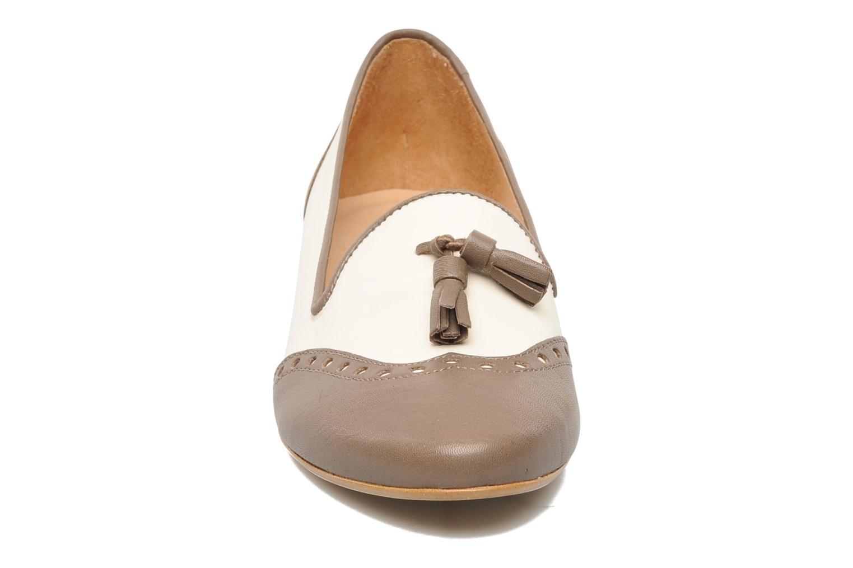 Mocassins Jonak Jesha Marron vue portées chaussures