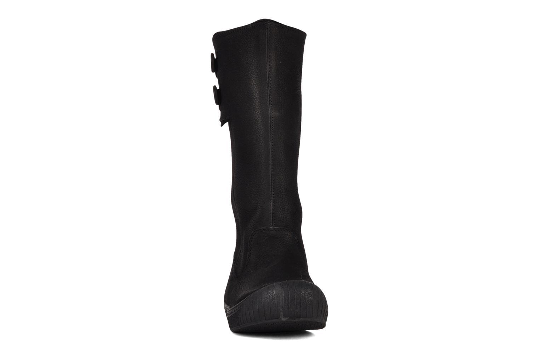 Bottes Palladium Fadila wib Noir vue portées chaussures