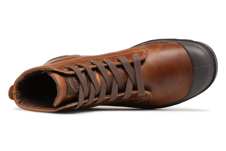 Bottines et boots Palladium Pampa hi leather M Marron vue gauche