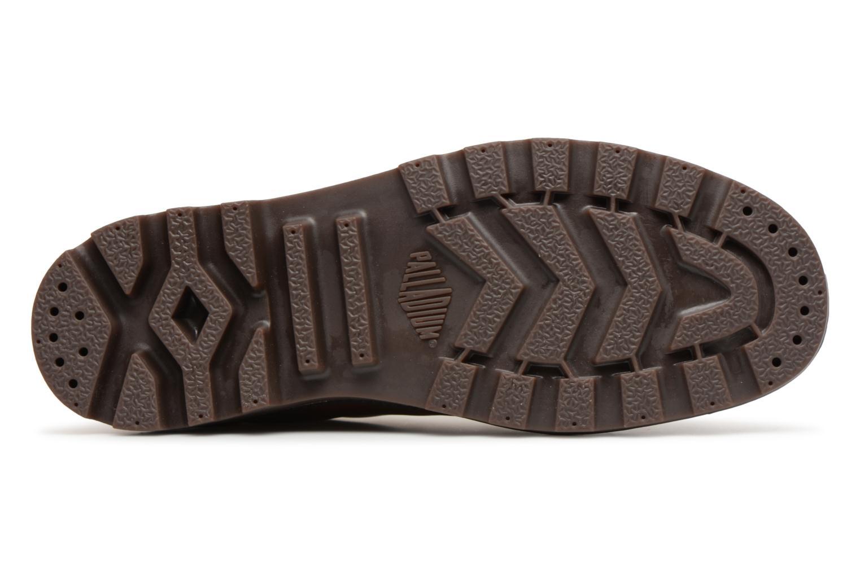 Bottines et boots Palladium Pampa hi leather M Marron vue haut