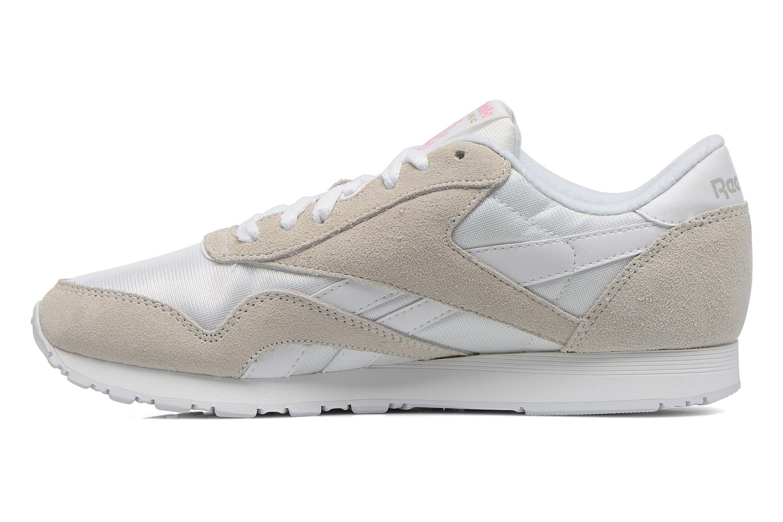 Sneakers Reebok Classic nylon W Vit bild från framsidan