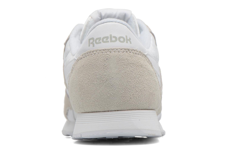 Sneakers Reebok Classic nylon W Vit Bild från höger sidan
