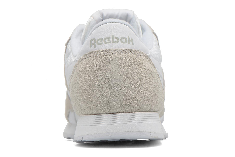 Sneakers Reebok Classic nylon W Bianco immagine destra