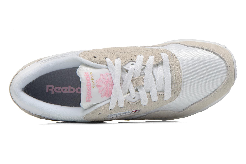 Sneakers Reebok Classic nylon W Vit bild från vänster sidan