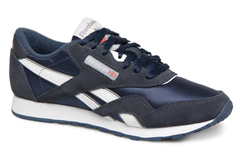 Zapatos promocionales Reebok Classic Nylon W (Azul) - Deportivas   Descuento de la marca