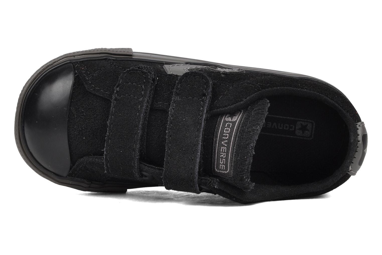 Sneaker Converse Star player 2v suede ox schwarz ansicht von links