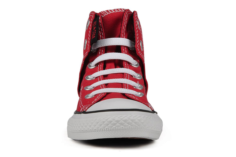Sneaker Converse Chuck taylor all star easy slip hi K rot schuhe getragen