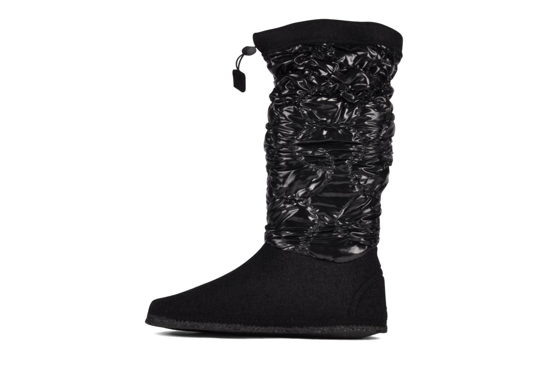 Stiefel Giesswein Erdberg schwarz ansicht von vorne