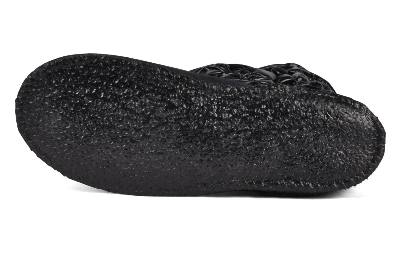 Stiefel Giesswein Erdberg schwarz ansicht von oben