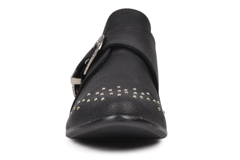 Mocassins Friis & company Polly Noir vue portées chaussures