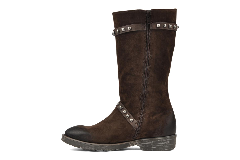 Boots en enkellaarsjes Dkode Melita Bruin voorkant