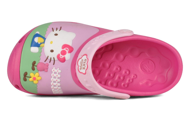 Sandalen Crocs Hello kitty custom clog Roze links
