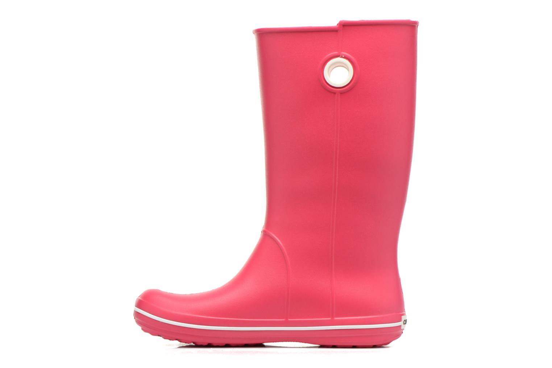 Laarzen Crocs Crocband jaunt women's Roze voorkant
