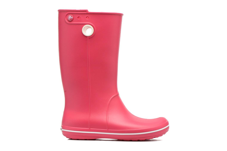 Laarzen Crocs Crocband jaunt women's Roze achterkant