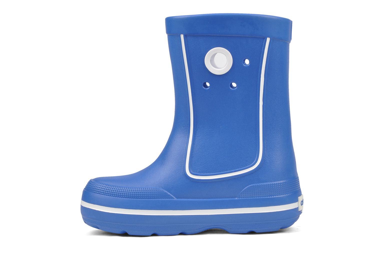Bottes Crocs Crocband jaunt Bleu vue face