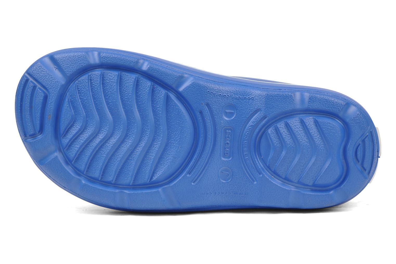 Bottes Crocs Crocband jaunt Bleu vue haut