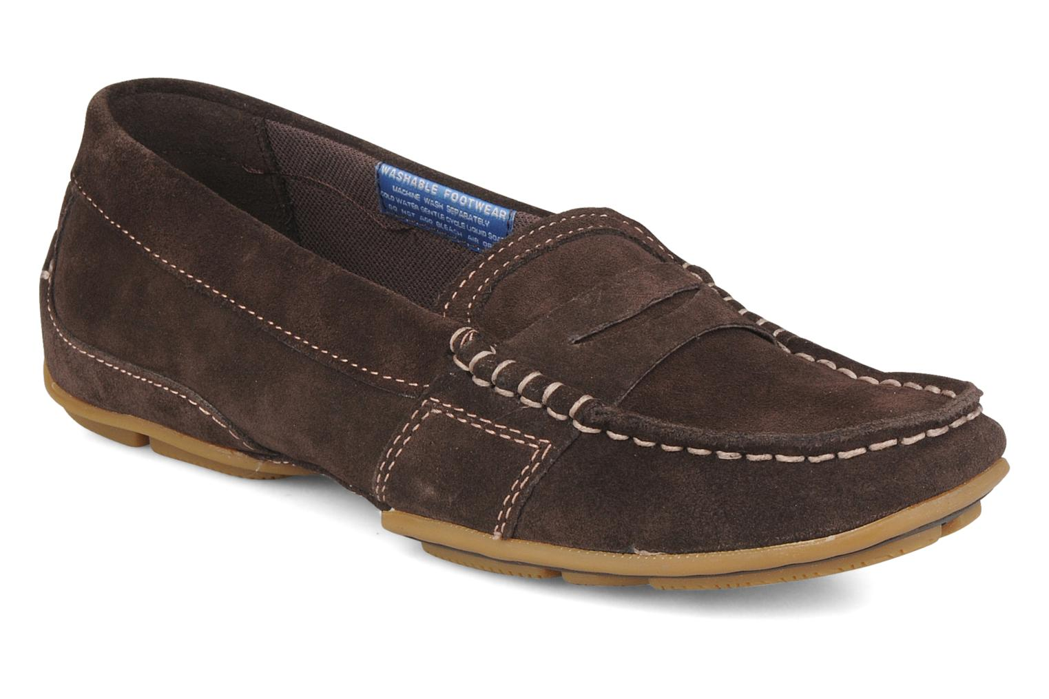 Loafers Rockport Mesh moc Brown detailed view/ Pair view
