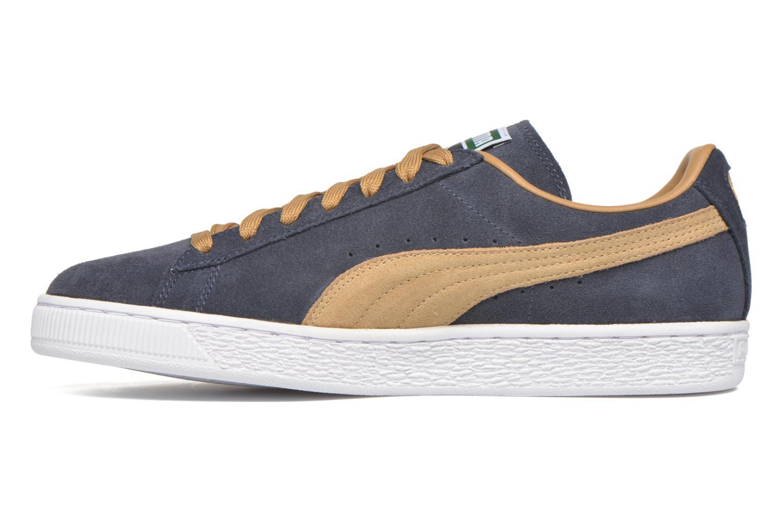 Sneakers Puma Suede Classic Blauw voorkant