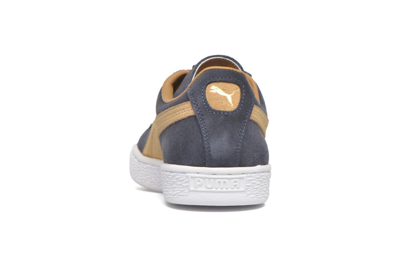 Sneakers Puma Suede Classic Blauw rechts