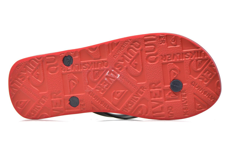 Slippers Quiksilver Molokai nitro Rood boven