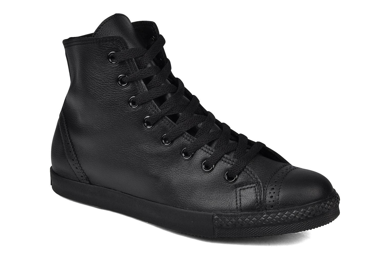 Trainers Converse Chuck Taylor mnml wingtip hi M Black detailed view/ Pair view
