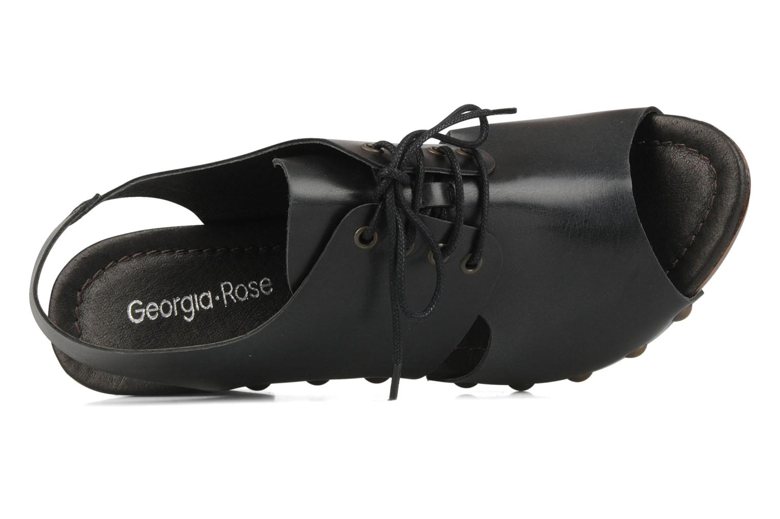 Mules & clogs Georgia Rose Noena Black view from the left