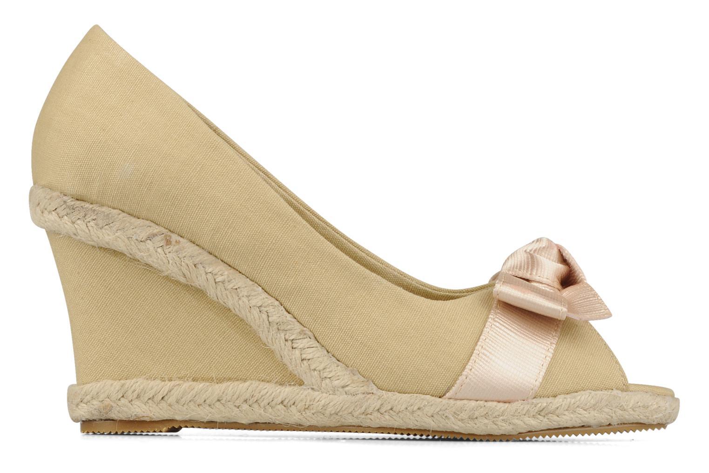 High heels Friis & company Tonika Beige back view