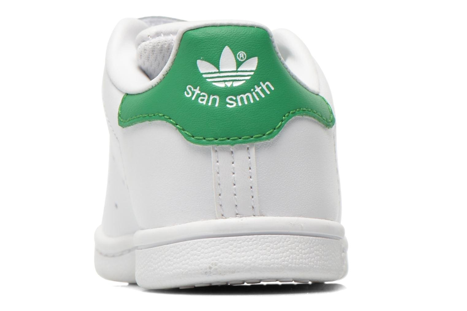 Trainers Adidas Originals Stan smith cf I White view from the right