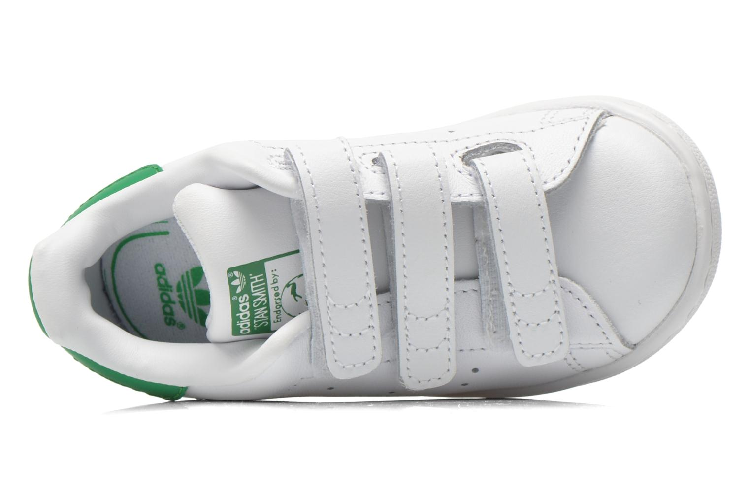 Trainers Adidas Originals Stan smith cf I White view from the left