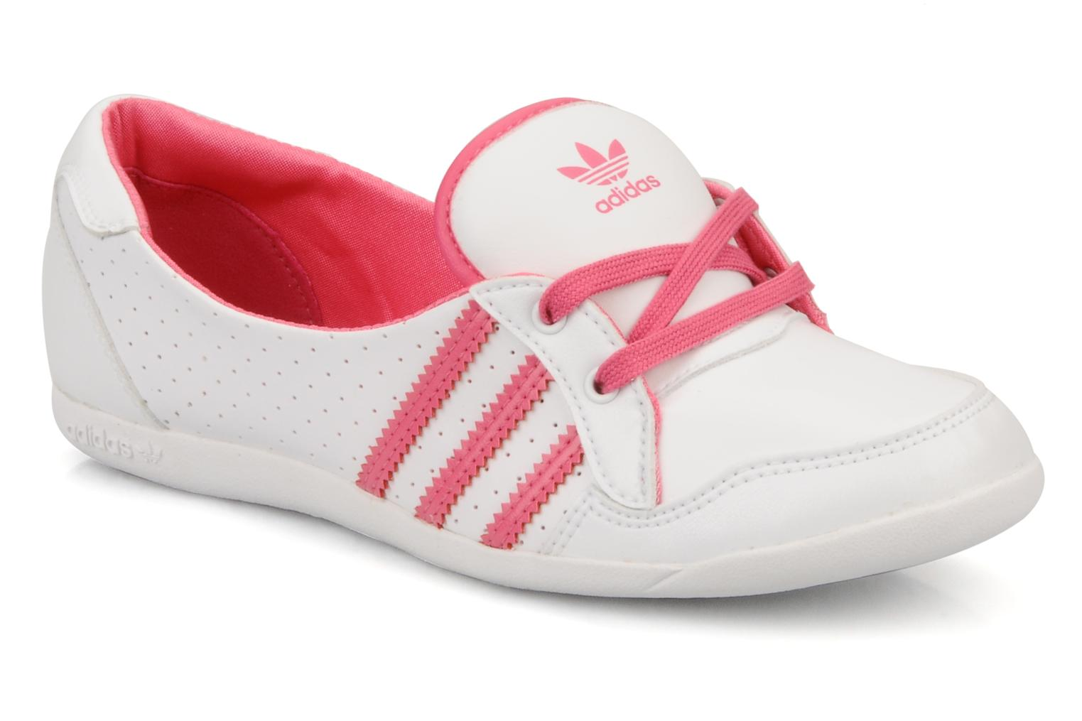 Ballerina's Adidas Originals Forum slipper Wit detail